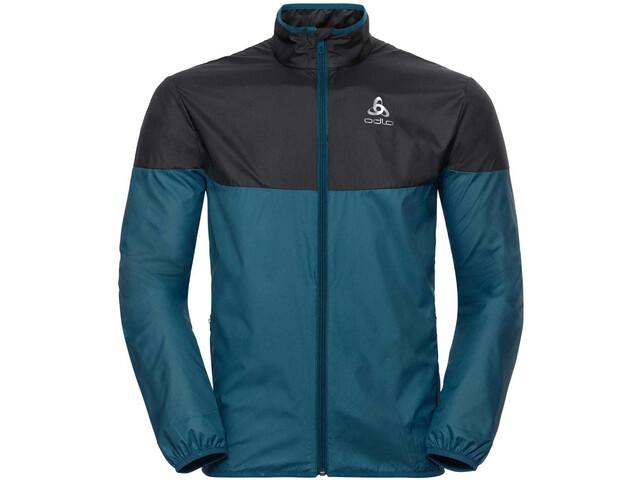 Odlo Core Light Jacket Herren blue coral-black